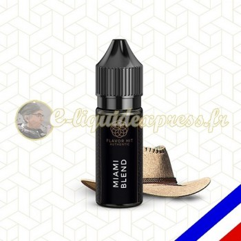 E-liquide Flavor Hit Authentic Blend 70/30 Miami Blend -10 ml