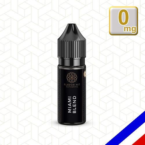E-liquide Flavor Hit Authentic Blend 70/30 Miami Blend -10 ml en 0 mg