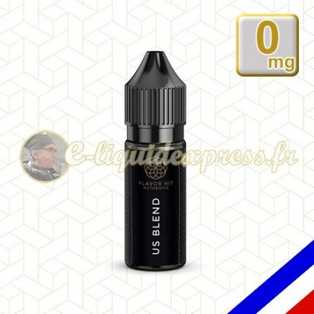 E-liquide Flavor Hit Authentic Blend 70/30 US Blend -10 ml en 0 mg