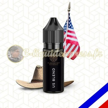 E-liquide Flavor Hit Authentic Blend 70/30 US Blend -10 ml
