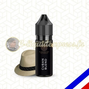 E-liquide Flavor Hit Authentic Blend 70/30 Cuban Blend -10 ml