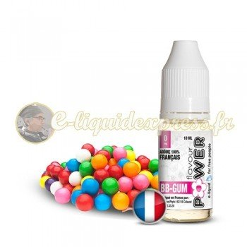 E-liquide Flavour Power 50/50 BB Gum 10 ml