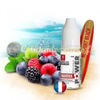 E-liquide Flavour Power 50/50 Maverick - Fruits rouges/Menthe 10 ml