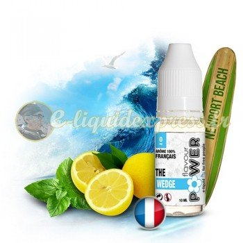E-liquide Flavour Power 50/50 The Wedge - Citron/Menthe 10 ml