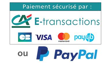 paiement sécurisé par E-transaction du Crédit Agricole sur e-liquidexpress.fr