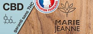 E-liquides français au CDB Marie Jeanne