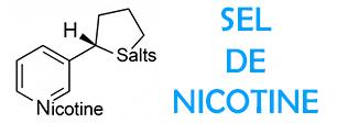 E-liquides français au sel de nicotine