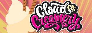 E-liquides saveurs crème glacée Cloud Co Creamery à booster en 50-50 PG-VG